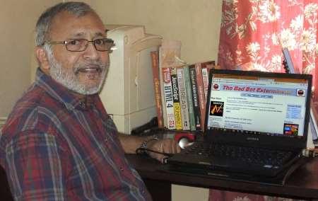 Software developer Dr. Peter Achutha